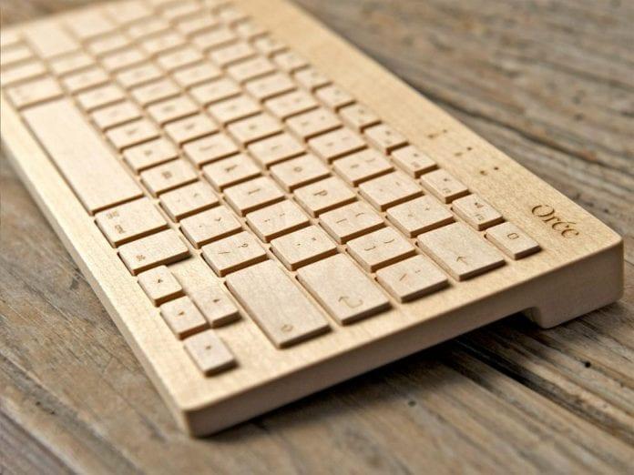 drevena-klavesnica-k-pocitacu