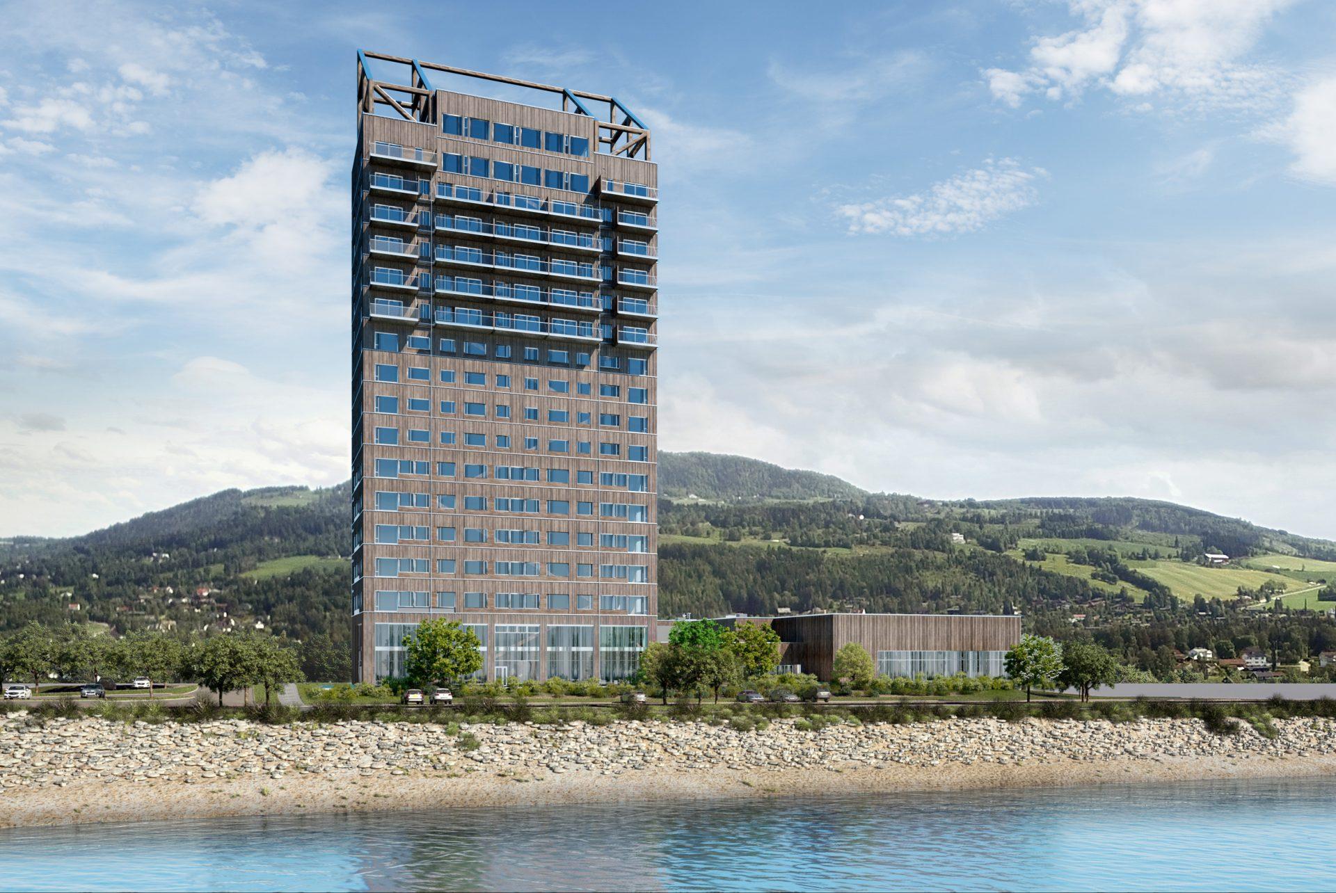 Mjøstårnet-tower-norsko-drevo-stavba-kancelarie-hotel