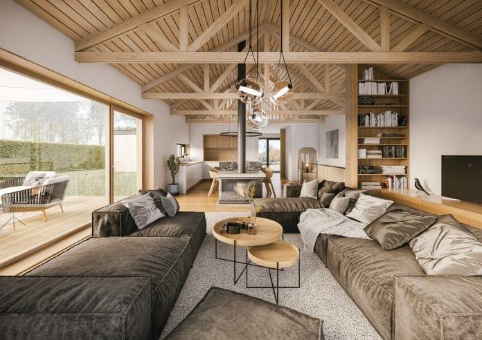 drevené trámy