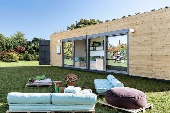 montovaný dom, kontajnerový dom