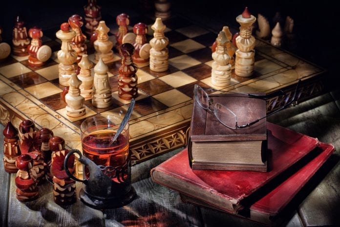 drevená šachovnica, pravidlá šachu